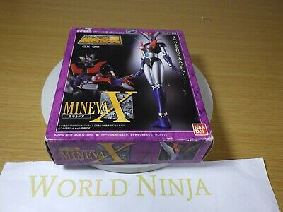 Soul of Chogokin GX-09 MINERVA X Action Figure Mazinger Z BANDAI Japan NEW New
