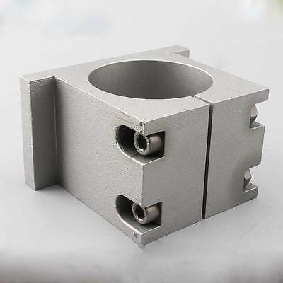 Spindle Motor mount bracket Clamp holder cast aluminum for 80mm spindle motor