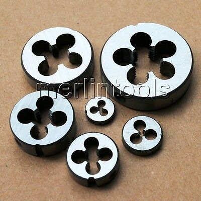 M2 to M52 Metric Left Hand Thread Die Select Size