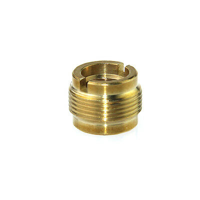 """3/8"""" Female To 5/8"""" Male Threaded Screw Adapter For Mic Micphone Stand"""