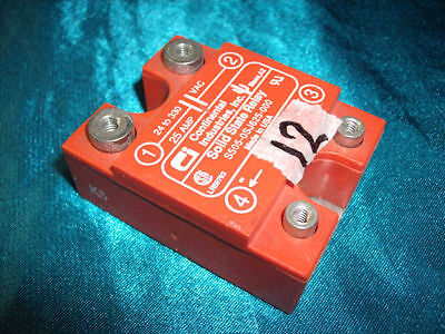 lot 4 Continental S505-0SJ625-000 Solid State Relay