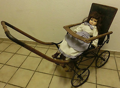 Doll carriage antique Sara n ? approx. 1900