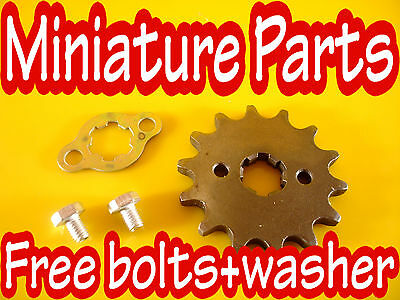 Pit Bike Front Sprocket 17 Teeth 420 Pitch 17Mm  Sproket 17 Tooth Cw Wpb M2R