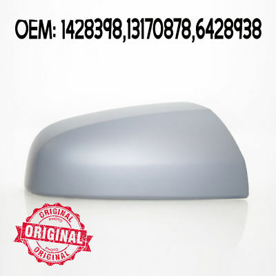 Right Side Wing Mirror Cover Cap Casing Primed For Opel Vauxhall Zafira 05 -