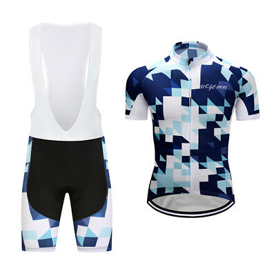 2016 Design New Mens Riding Outfits Cycling Jerseys Short Sleeve Bib Shorts Sets
