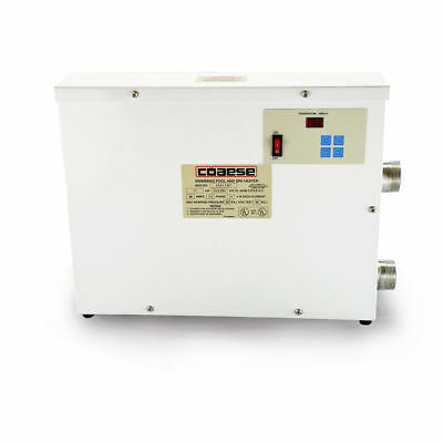 Automatic Swimming Pool Thermostat SPA Heater Temperature Controller 5.5KW 220V