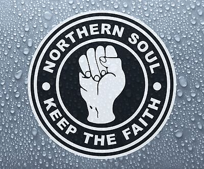 Northern Soul #6 - KTF printed self-adhesive car wall sticker - Larger sizes
