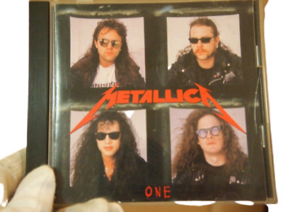 Used_CD ONE Single Metallica FREE SHIPPING FROM JAPAN BJ95