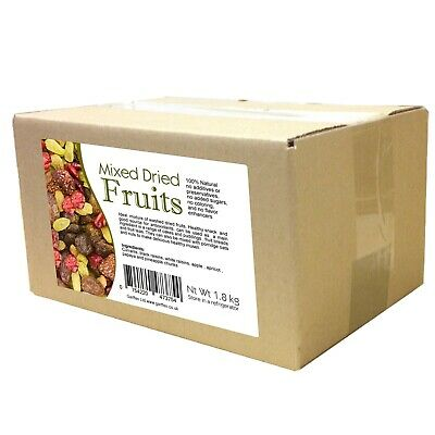 Mixed Dried Fruits 1.8kg Natural Healthy Snacks Antioxidants Fruit Tea