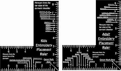 Wild image pertaining to printable embroidery placement ruler