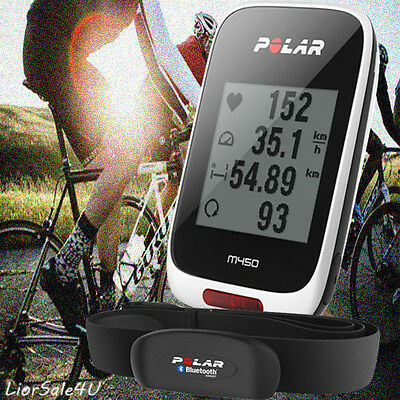 Polar M450 GPS Cycling Bike Bicycle Computer Cycle Wireless + Herat Rate Monitor