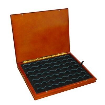 Coin Display Box Case Quarter Capsules State /National Park Oak Free US Shipping