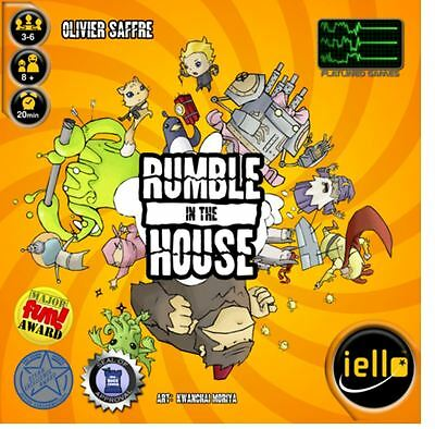 Rumble in the House - Strategy Board Game