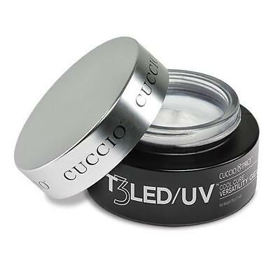 CUCCIO PRO T3 LED / UV NAIL GEL - WHITE 28g 1oz false tips builder one step