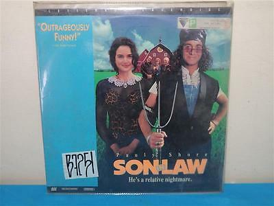 Pauly Shore SON IN LAW Laser Disc