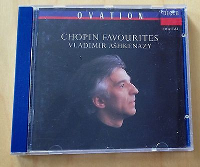 CD: CHOPIN FAVOURITES - Vladimir Ashkenazy, Piano