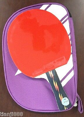 Ping Pong Paddle Case/Cover, Table Tennis Racket/Paddle/Bat Cover--Shakehand