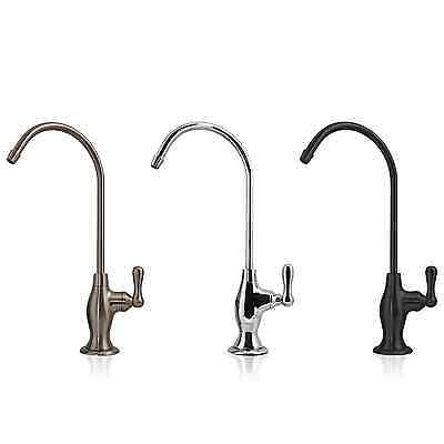 DELUXE Ceramic Disc Faucet Coke Shaped Non-Air Gap Lead Free for RO Water Filter