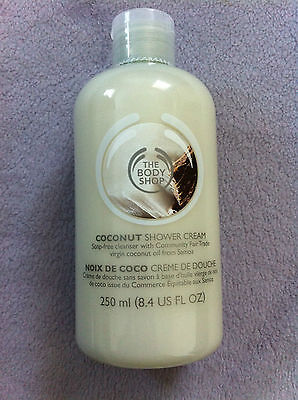 The Body Shop Coconut Shower Cream 250Ml Brand New
