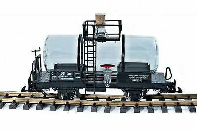 Zenner Liquor wagon, Glass kettle, a tank car scale G Stainless steel wheels
