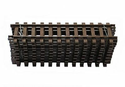 Dickie 10 Straight Tracks made of Plastic Length 315 mm G Scale