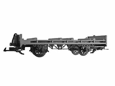 Zenner Flat wagon,LüP 300 mm,construction from LGB,gray,G Scale Garden railway