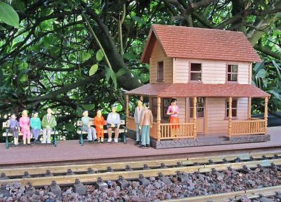 NewRay Western railway station or Range, Scale 1:30, for G Scale and 1 gauge