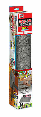 2 X Non Slip Clean Step Mat Dry Super Absorbent Microfibre doormat carpet Mud!