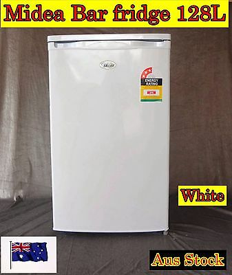 Midea Bar Fridge Refrigerator  model 128L , White Color (Brand New)