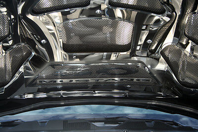 Mustang Hood Panel 8Pc Perforated/Polished GT 2011-2012- 273029