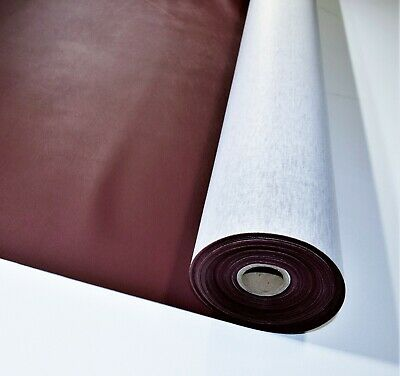 """Marine Vinyl Fabric Burgundy Red15 Yards Outdoor Auto Boat Upholstery 54/"""" Wide"""