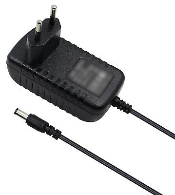 2A AC/DC Power Adapter Charger Cord For WD Western Digital 500GB My Book EU plug