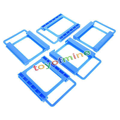 """5x2.5"""" to3.5"""" Adapter Bracket SSD HDD Desktop PC Mounting Hard Drive Disk Holder"""