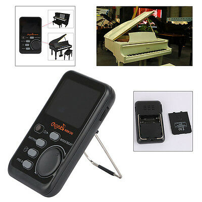 Beat Tempo Metronome Tone Generator Music Timer Instument Black For Piano