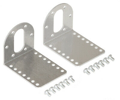 Pololu Stamped Aluminum L-Bracket Pair for 37D mm Metal Gearmotors 1084