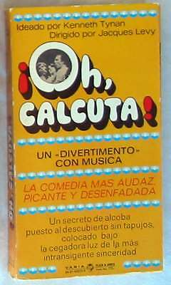 ¡oh, Calcuta! - Kenneth Tynan Y Jacques Levy - Plaza & Janes 1978 - Ver