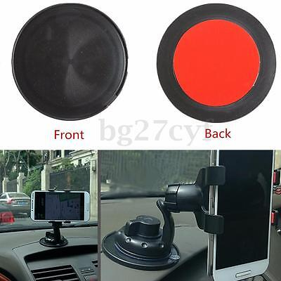 Car Suction Cup Adhesive Dash Dashboard Mount Disc Pad GPS Phone Stand Holder