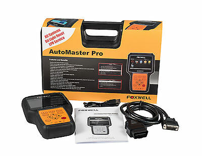 FOXWELL NT644 PRO Diagnostic Tool, ALL Systems, Scanner,Fault Code Reader Reset