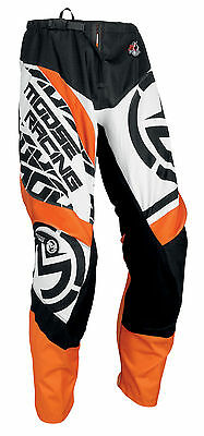 MOOSE Racing MX Motocross Men's 2017 QUALIFIER Pants (Orange/Black) Choose Size