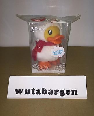B.Duck Christmas Edition Saving Bank, 16cm - MSRP $29