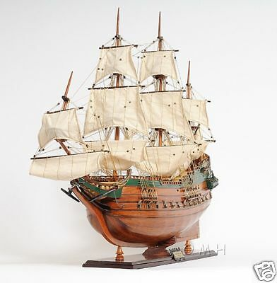 "Batavia Dutch East Indies Wooden Model Tall Ship 37"" Replica"
