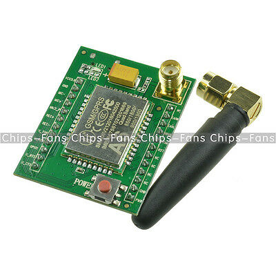 A6 GPRS GSM Module Adapter Board Plate Quad-band 850 900 1800 1900MHZ +Antenna F