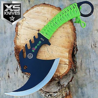 "Z-HUNTER 11"" SURVIVAL CAMPING TOMAHAWK THROWING AXE BATTLE Hatchet Hunting Knife"