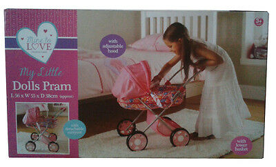 """My Little Dolls Pram """"THE AGES OF 3 PLUS"""""""