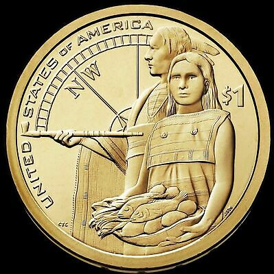 "2014 P Sacagawea Native American Dollar US Mint Coin ""Brilliant Uncirculated"""