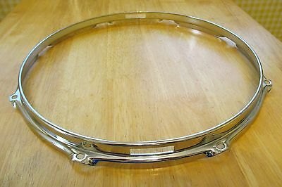 "14"" 8 Lug Cannon Stick Saver Snare Side Rim Hoop New"