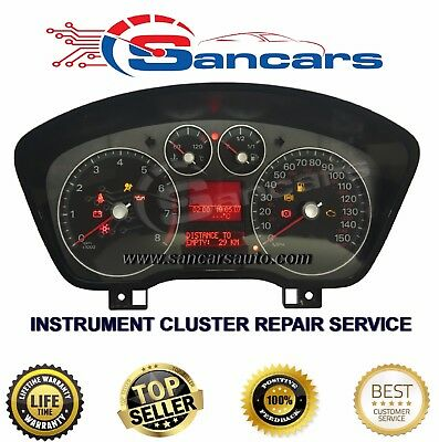Ford Focus C-Max 2004 - 2010 Instrument Cluster, Speedo Head Repair Service