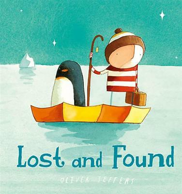 NEW Lost And Found By Oliver Jeffers Board Book Free Shipping