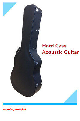 HARD Case for 12-String Acoustic Guitar – Lockable
