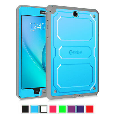 For Samsung Galaxy Tab A 9.7 inch Tablet Rugged Dual Layer Hybrid Case Cover